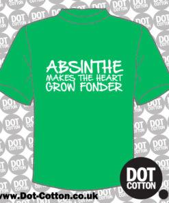 Absinthe Makes the Heart Grow Fonder T-shirt