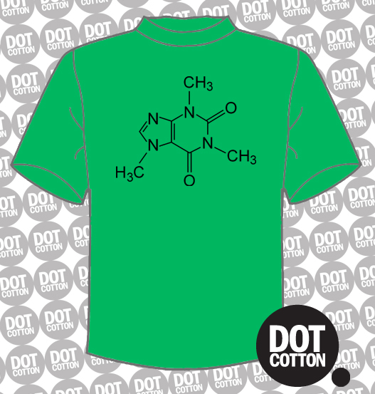 Caffeine Chemistry T-shirt