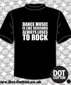 Dance Music Rock T-Shirt