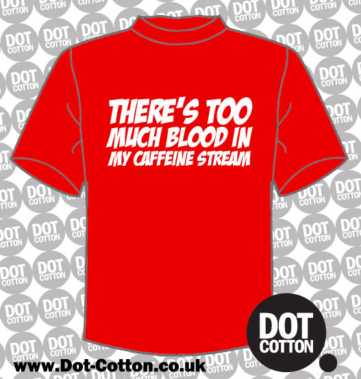 Theres too Much Blood T-shirt