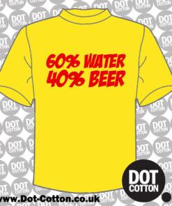 Water 60 Beer 60 T-Shirt