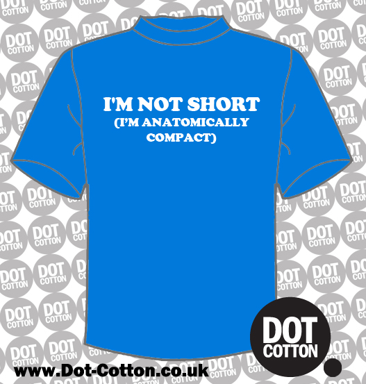Antomically compact T-shirt