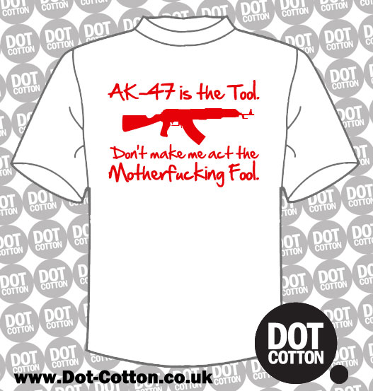 AK47 is the Tool T-shirt
