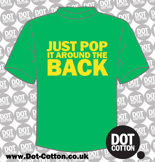 Pop it Around the Back T-Shirt