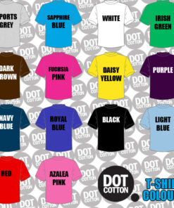 Dot Cotton T-Shirt Colors