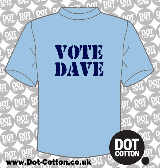 Vote Dave T-Shirt