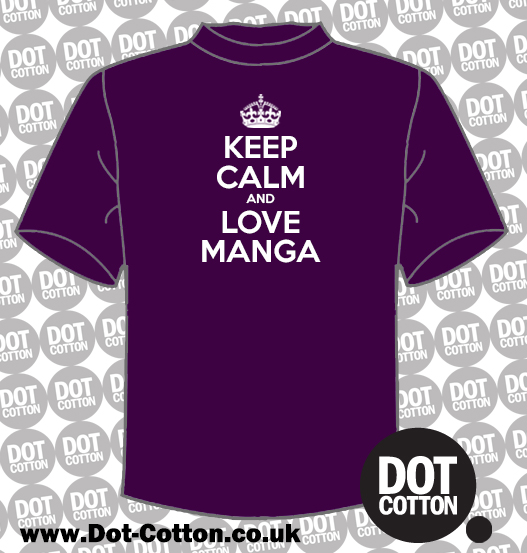 Keep Calm and Love Manga T-Shirt