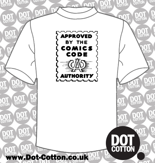 Approved by the Comics Code Authority T-Shirt