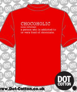 Chocoholic Definition T-Shirt