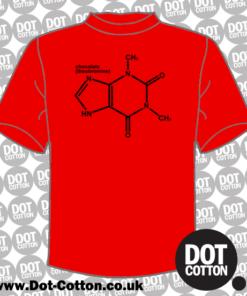 Chocolate Molecular Structure T-Shirt