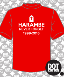 Harambe Never Forget T-Shirt