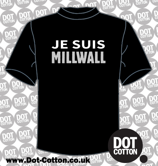 Je Suis Millwall T-shirt