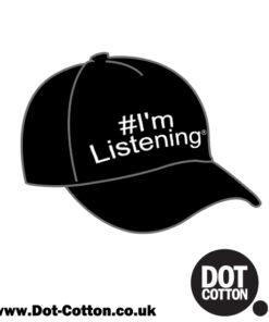 I'm Listening Hashtag Cap