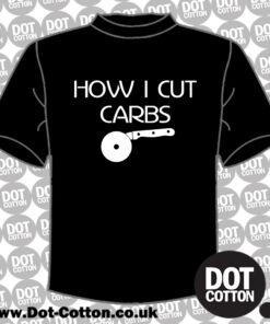 How I cut Carbs T-Shirt Layout