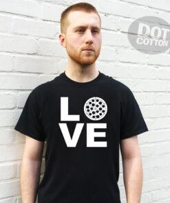 Love Pizza L O V E Pizza Printed T-Shirt
